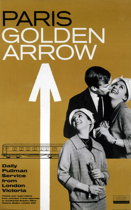 'Paris: Golden Arrow', BR poster, 1961.