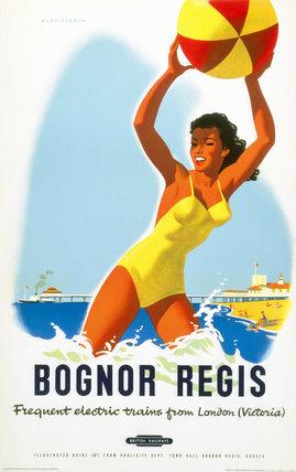 'Bognor Regis', BR poster, c 1950s.