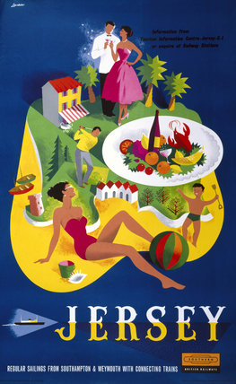 'Jersey', BR poster, 1959.