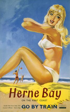 'Herne Bay', BR poster, 1961.