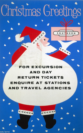 'Christmas Greetings', BR poster, 1961.