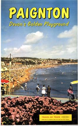 'Paignton', BR poster, 1962.