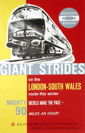 'Giant Strides', BR poster, 1963.