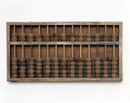 Chinese abacus.