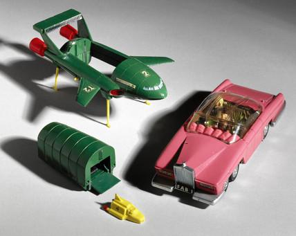 'Thunderbirds' Dinky Toys, 1960s.