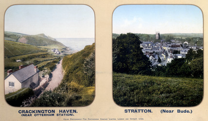 Crackington Haven and Stratton, Cornwall, 1910s.