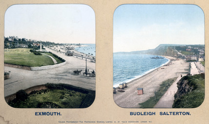 Exmouth and Budleigh Salterton, Devon, 1910s.