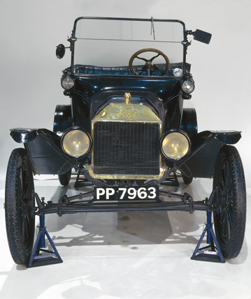 Ford Model T four-seat tourer motor car, 1916.