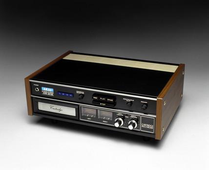 Akai 8-track stereo cartridge tape recorder, 1975.