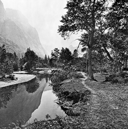 Valley of the Yosemite, California, c 1860s.