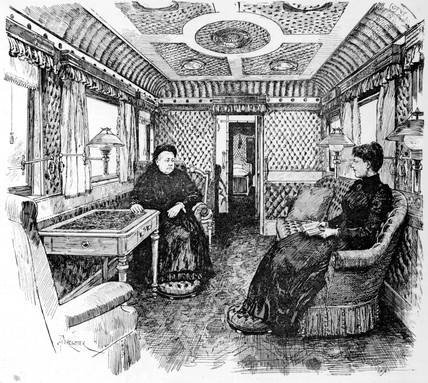 Queen Victoria in royal carriage, late 19th century.