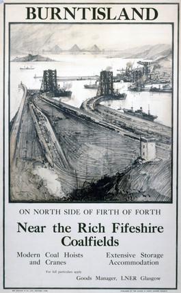 'Burntisland, Fife', LNER poster, 1923.
