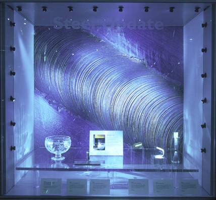 Stir weld update, Challenge of Materials Gallery, Science Museum, Nov 2000.
