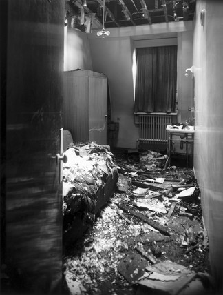 Air raid damage, Great Western Royal Hotel, London, 1944.