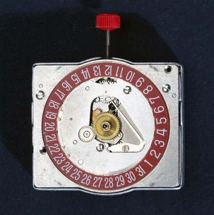 'Beta 21' Quartz wristwatch movement, 1969.