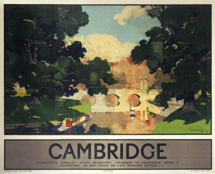 'Cambridge', LNER poster, 1923-1947.