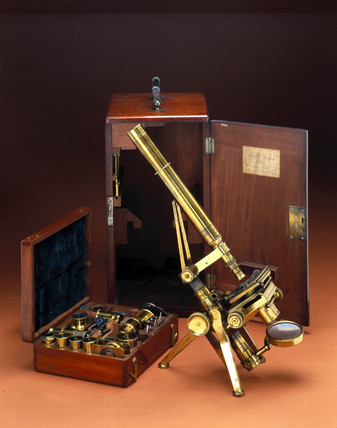 Powell & Lealand No 2 microscope outfit, 1845.