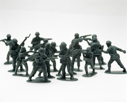 Toy soldiers, 2000.