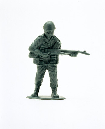 Toy soldier, 2000.