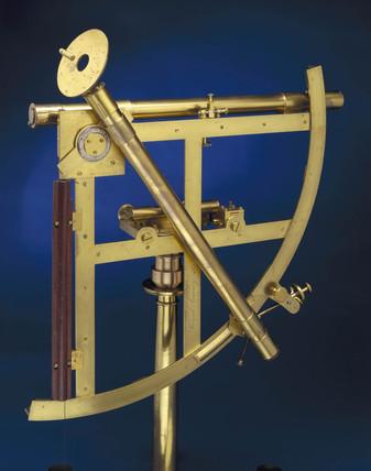 Twelve inch portable astronomical quadrant, 1760-1769.