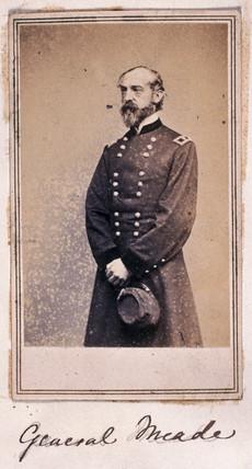 General Meade, American soldier, c 1860s.