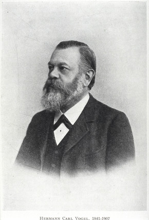 Hermann Carl Vogel, German astronomer, c 1890s.