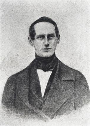 Christian Doppler, Austrian physicist, c 1840s.