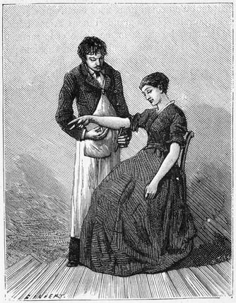 Exploration of the cubital nerve, 1881.