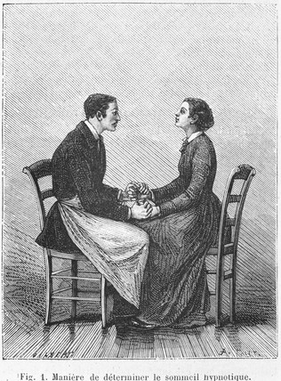 Method of determining hypnosis, 1881.
