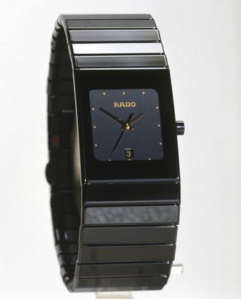 Rado 'DiaStar Ceramica' analogue quartz wristwatch, 1998.