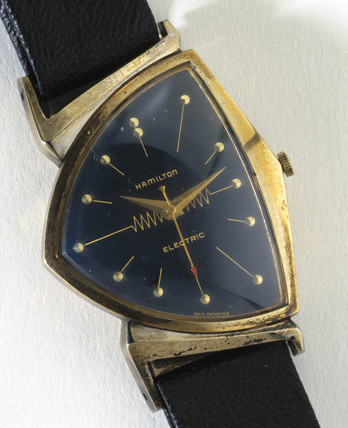 Hamilton electric wristwatch, 1957.