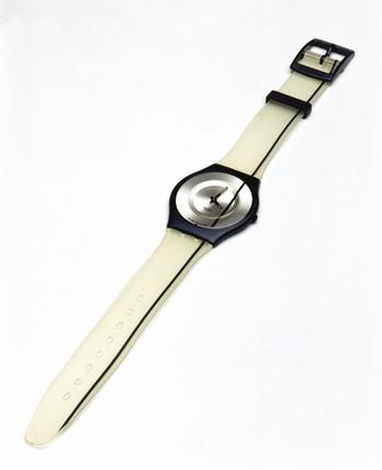 Swatch 'SKIN' analogue quartz wristwatch, 1998.