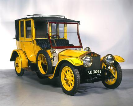 Rolls-Royce 'Silver Ghost' motor car, 1909.