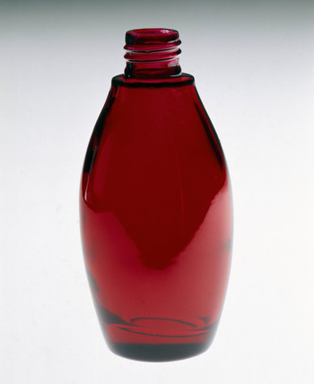 Red bottle, powder-coated by Azko Nobel, 2000.