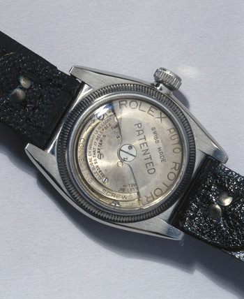 Rolex 'Oyster Perpetual' wristwatch, 1931.