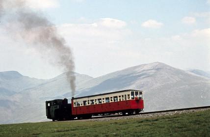 Locomotive No 6 'Padarn', Snowdonia, Wales,