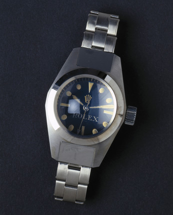 Rolex 'Oyster' wristwatch, 1960.