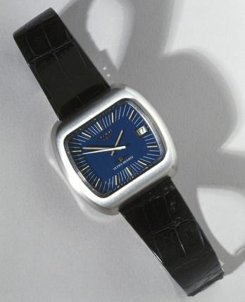 Longines 'Ultraquartz' quartz analogue wristwatch, 1969-70.