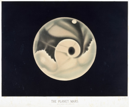 The planet Mars, 1872-1881.