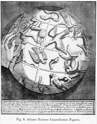 'Atlante Farnese Constellation Figures', 1921.