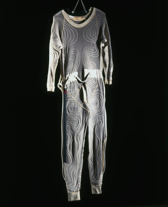 Liquid-cooled suit, c 1955.
