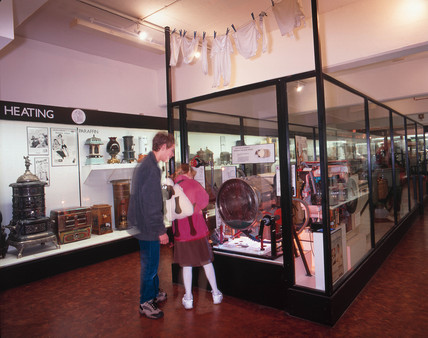 Secret Life of the Home Gallery, Science Museum, London, October 2000.