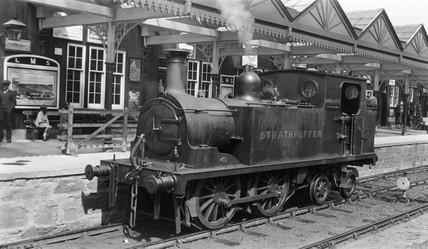 'Strathpeffer' at Strathpeffer station, Sco