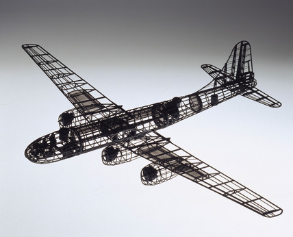 Shadow test model of Tupolev Tu-4, 1955-1960.