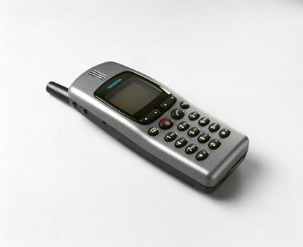 Siemens S25 mobile phone, 2000.