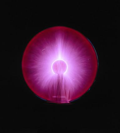 Large plasma ball, c 1990s.