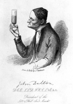 a biography of john dalton an english scientist Dalton, john (1766-1844) english meteorologist who switched to chemistry when he saw the applications for chemistry of his ideas about the atmosphere.
