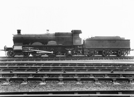 Steam locomotive 'Albion', Swindon Works,