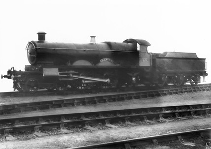 Steam locomotive 'Albion', Swindon Works,