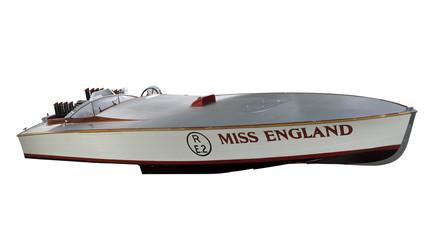 'Mis England', racing motor boat, 1929.
